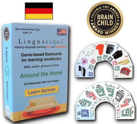 Linguacious Flash Cards - German