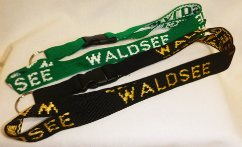 German Village Woven Lanyard