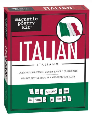 Italian Magnetic Poetry Kit