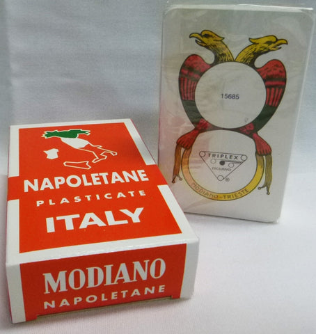 Napoletane Plasticate Italy Playing Cards