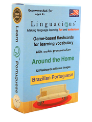 Linguacious Flash Cards - Brazilian Portuguese