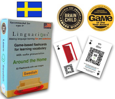Linguacious Flash Cards - Swedish