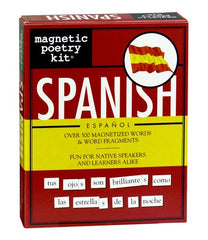 Spanish Magnetic Poetry Kit