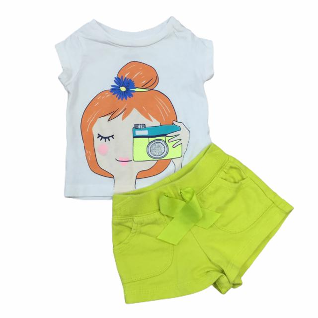 Carter's 2 PC Set Girl's (6 months) - The Kids Shoppe Windsor