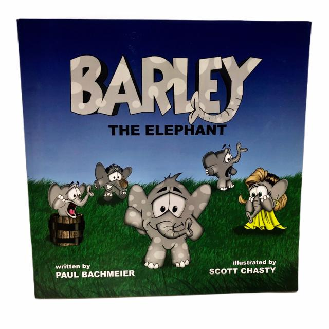 Barley The Elephant By Paul Bachmeier - The Kids Shoppe Windsor