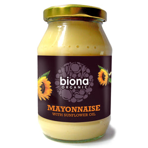Biona Organic Mayonnaise with Sunflower Oil