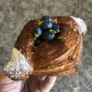 Blueberry Vanilla & Lemon Danish