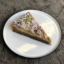 Load image into Gallery viewer, Raspberry, Pistachio & Cardamom Tart