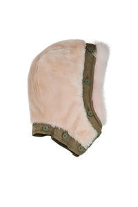 The Reversible Shearling Hood