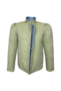 Magic Jacket, Green Cashmere