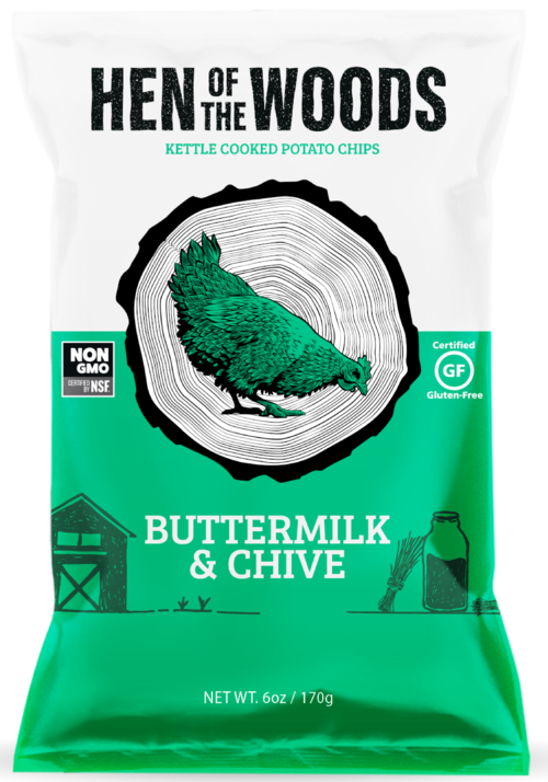 Multi-pack of Buttermilk & Chive Kettle Chips