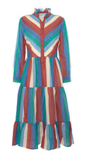Load image into Gallery viewer, Dakota Dress, Circus Stripe