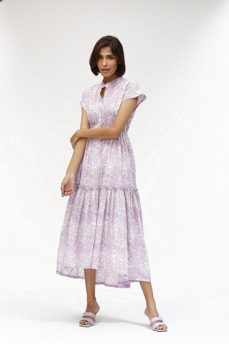 Mumi Dress in Pauline Lilac
