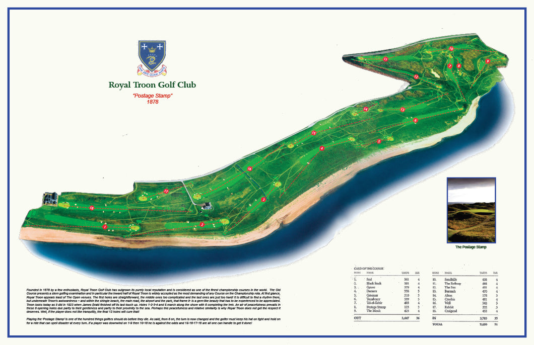 Royal Troon Map