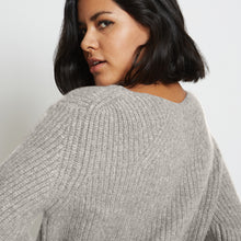 Load image into Gallery viewer, Kaya Ribbed Pure Cashmere Sweater