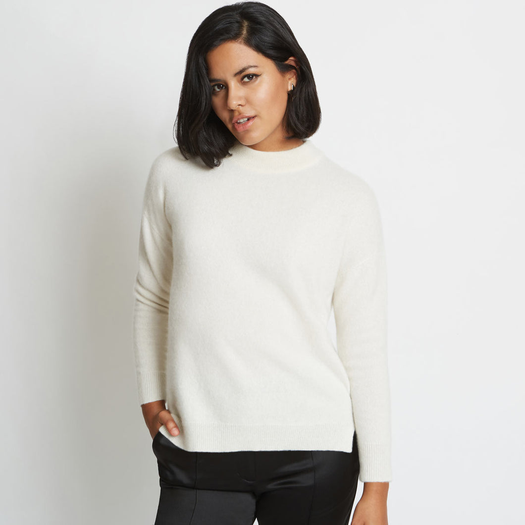 Riley 3D Knitted Cashmere Sweater