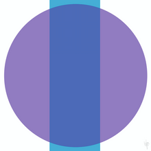 Load image into Gallery viewer, INTERSECTION Blue Purple