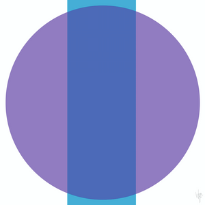 INTERSECTION Blue Purple