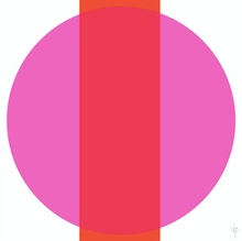 Load image into Gallery viewer, INTERSECTION Orange Pink
