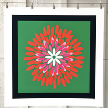 Load image into Gallery viewer, POSIE Navy Green Pink