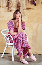 Load image into Gallery viewer, Ava Dress, Fuchsia