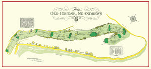 St. Andrews Map