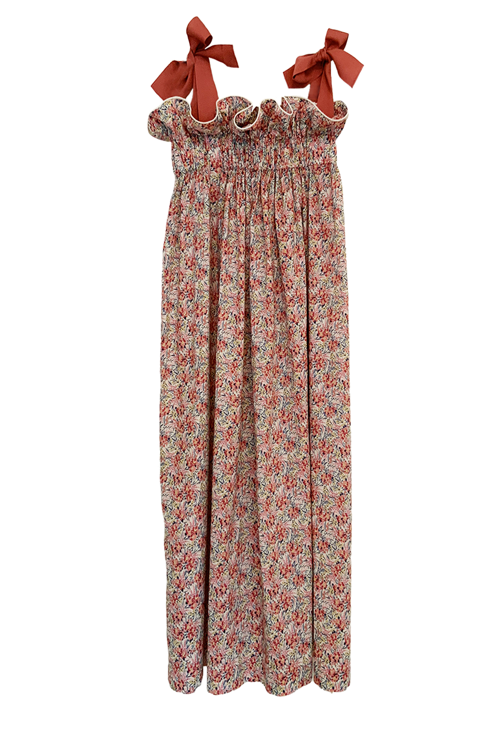 Jaime Dress, Liberty Swirling Floral Cotton Lawn