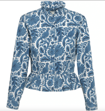 Load image into Gallery viewer, Isla Shirt, Blue Pheasant