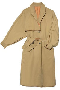 The Reversible Trench Coat, Sand
