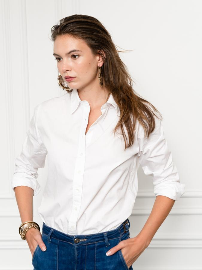 The Boyfriend Shirt, White