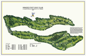 Winged Foot Map