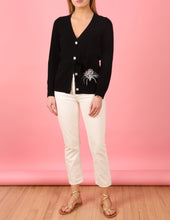 Load image into Gallery viewer, Alexandra Belted Cardigan, Black