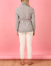 Load image into Gallery viewer, Alexandra Belted Cardigan, Stone