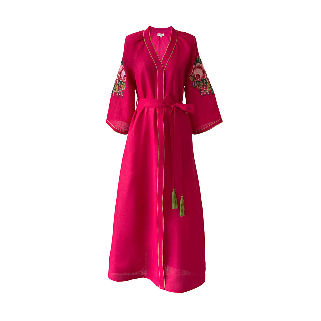 Bougainvillea Dress
