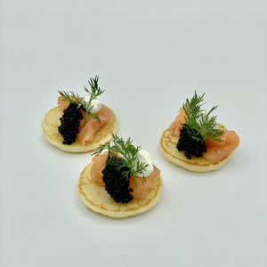 Caviar & Salmon Set