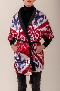 Reversible Quilted Ikat Jacket