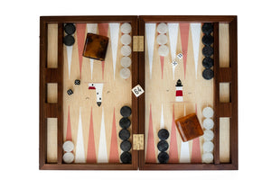 Custom Backgammon Board, Walnut