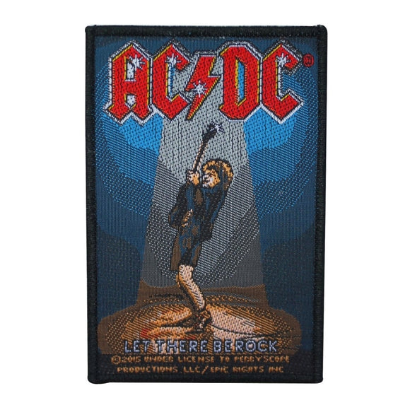 AC/DC ACDC Let There Be Rock Patch Angus Young Band Jacket Sew On Applique