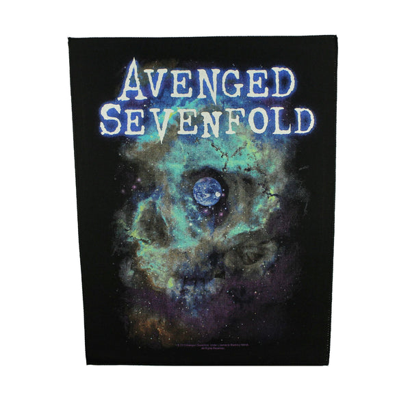 XLG Avenged Sevenfold Nebula Back Patch Heavy Metal Rock Band Sew On Applique