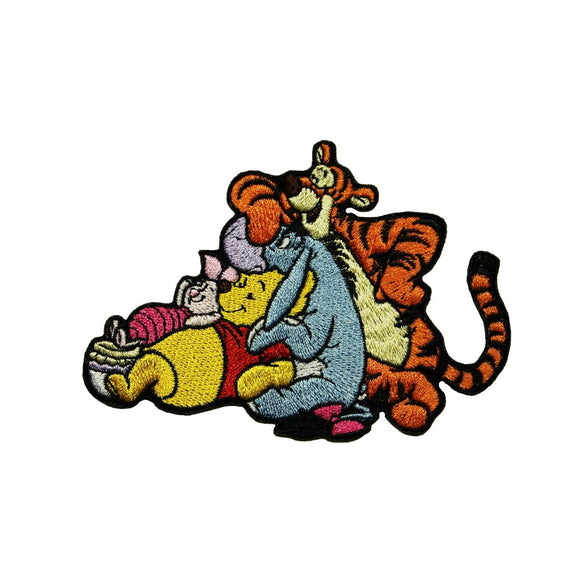 Winnie The Pooh and Friends Patch Friendly Disney Character Iron On Applique
