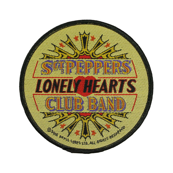 The Beatles Sgt. Peppers Lonely Hearts Club Band Patch Woven Sew On Applique