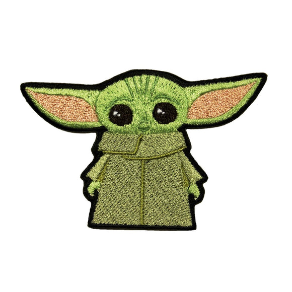Star Wars Baby Yoda Patch Mandalorian Child Chibi Embroidered Iron On Applique