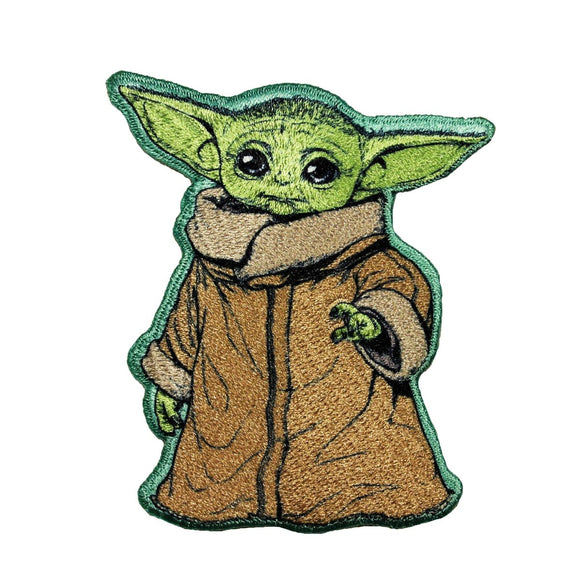 Star Wars Yoda The Child Patch Mandalorian Embroidered Iron On Applique