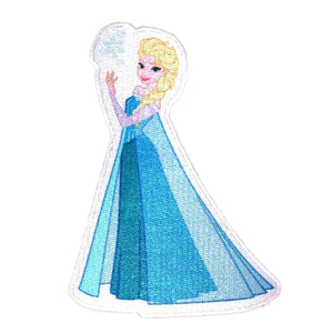 Princess Elsa Patch Frozen Snow Queen Disney Fan Craft Apparel Iron-On Applique