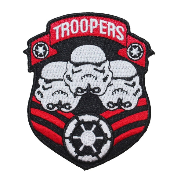 Disney Star Wars Storm Troopers Badge Patch Officially Licensed Iron On Applique