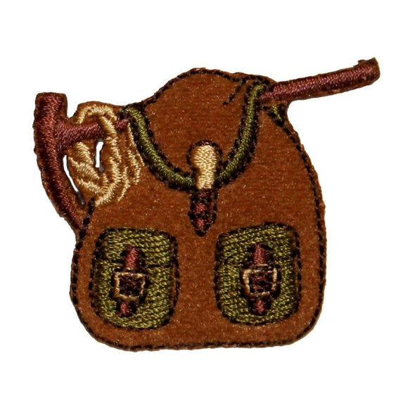 ID 0101 Camping Backpack Patch Saddle Bag Embroidered Iron On Badge Applique
