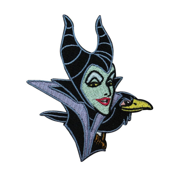 Maleficent Character Patch Sleeping Beauty Disney Movie Craft Iron-on Applique
