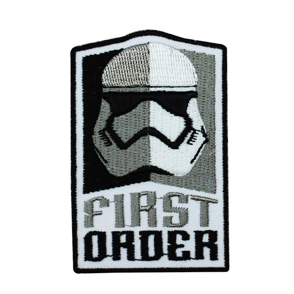Disney Star Wars Stormtrooper First Order Patch Officially Licensed Iron On