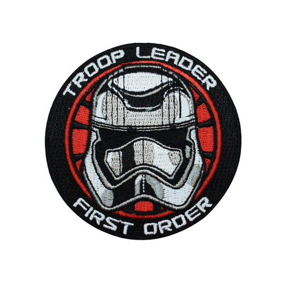 Disney Star Wars Stormtrooper Troop Leader Patch Officially Licensed Iron On
