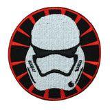 Disney Star Wars Storm Trooper Helmet Patch Officially Licensed Iron-On Applique